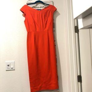 DVF midi sheath dress